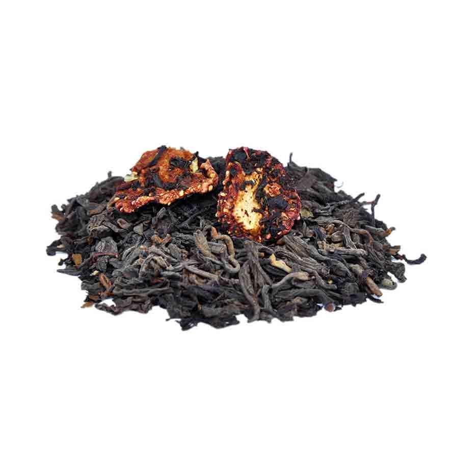 Strawberry Slender Loose Leaf Pu-erh Black Tea - Teavana