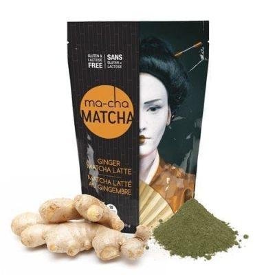 Ma-Cha Ginger Matcha Latte Mix