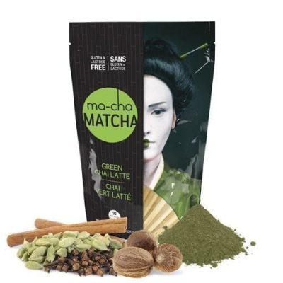 Ma-Cha Green Chai Matcha Latte Mix