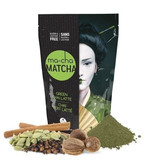 Ma-Cha Green Chai Matcha Latte Mix