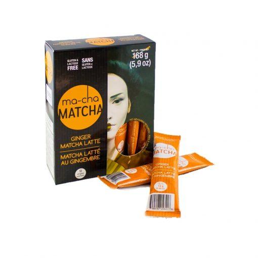 Ginger Matcha Sticks