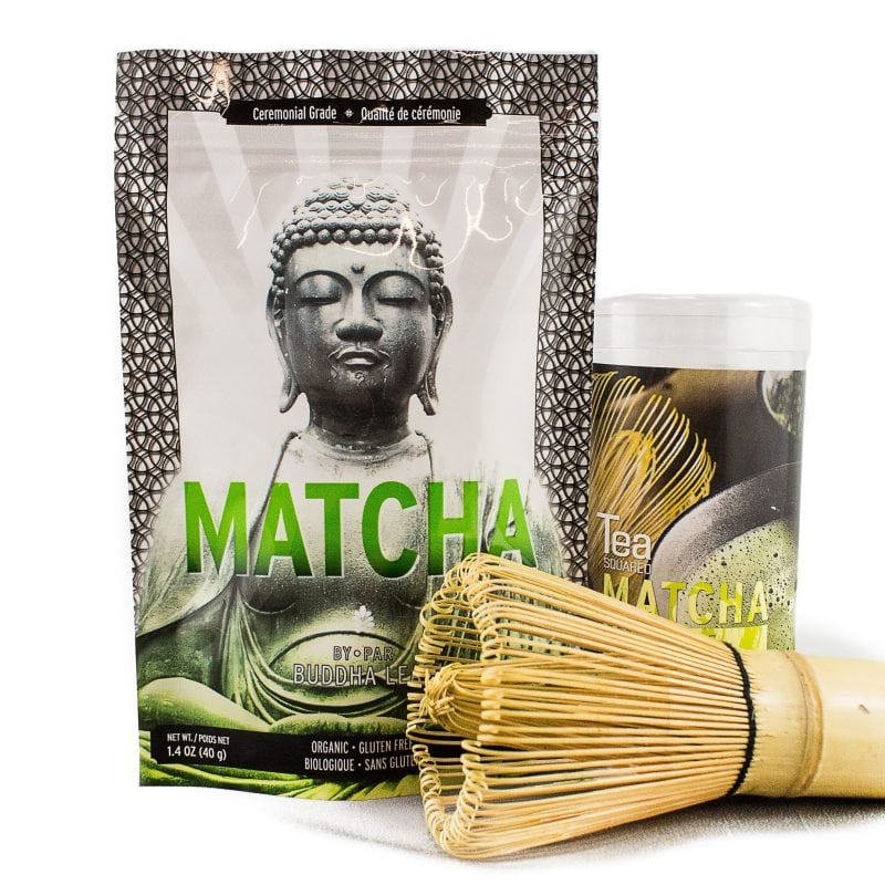 Ceremonial Matcha and Whisk