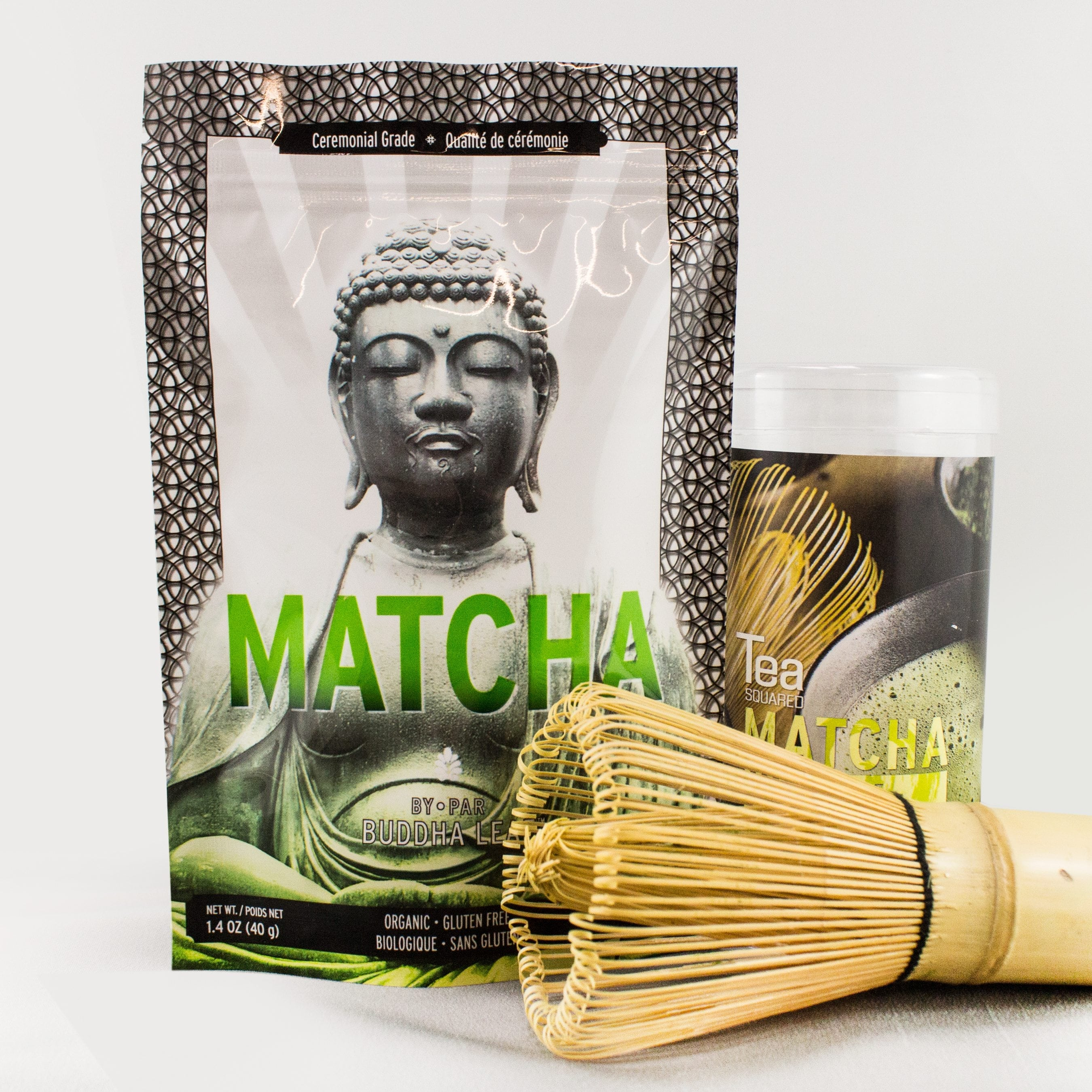 Ceremonial Grade Matcha & Whisk