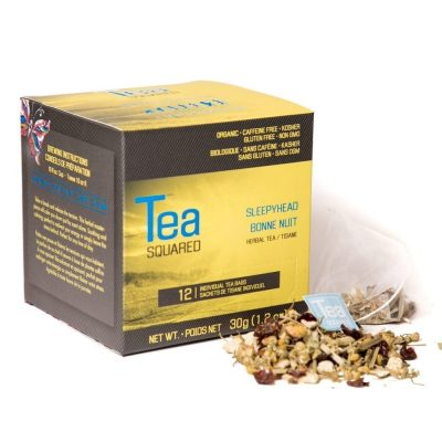 Sleepyhead Organic Herbal Tea Pyramid Bags Image