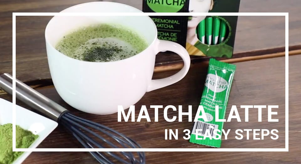 Matcha Latte in 3 Easy Steps