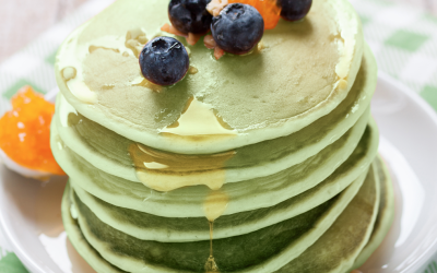 Matcha Buttermilk Pancakes Recipe